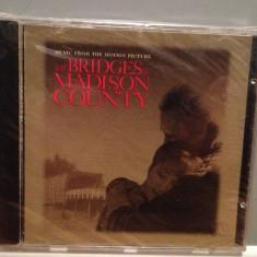 O S T - from :BRIDGES of MADISON COUNTY (1995/WARNER/UK) - ORIGINAL/NOU/SIGILAT - Muzica soundtrack warner, CD