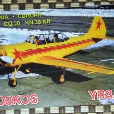 AEROSTAR BACAU - AVION YAK-52. PLIANT PROMOTIONAL (PC26)