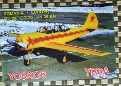 AEROSTAR BACAU - AVION YAK-52. PLIANT PROMOTIONAL (PC26) foto