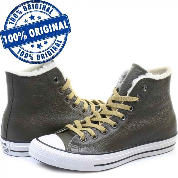 Pantofi sport Converse Chuck Taylor All Star Leather pentru femei - originali
