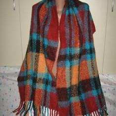 Fular/ sal casmir Sarah Kern, mare - Fular Dama, Culoare: Multicolor