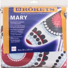 Husa masa calcat Mary 40X120 Pasla - Cercuri rosii Rorets
