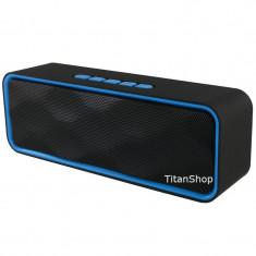 Boxa Portabila Bluetooth Difuzor Stereo BT/Radio/FM/AUX/Card, Conectivitate bluetooth: 1