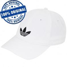 Sapca Adidas Originals Adicolor - sapca originala - Sapca Barbati Adidas, Marime: Marime universala, Culoare: Alb