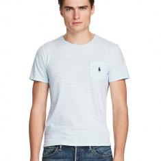 Tricou RALPH LAUREN Custom Fit - Tricouri Barbati - 100% AUTENTIC - Tricou barbati Ralph Lauren, Marime: S, M, L, Culoare: Din imagine, Maneca scurta, Bumbac
