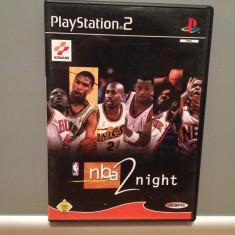 NBA 2 NIGHT - Joc pentru PlayStation 2 (PS2) - Original/ stare :Foarte Buna - Jocuri PS2 Sony, Sporturi, Toate varstele