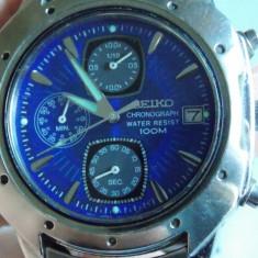 Ceas Seiko cronograf V657-9060 - Ceas barbatesc, Quartz