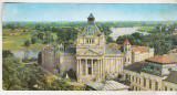 Bnk cp Arad - Palatul culturii - circulata, Printata