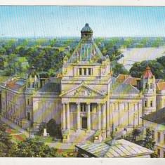 Bnk cp Arad - Palatul culturii - circulata - Carte Postala Crisana dupa 1918, Printata