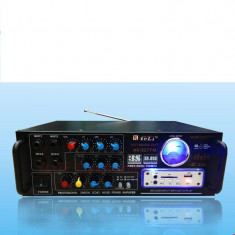 Amplificator audio karaoke bar TELI AV-327FM Radio Fm Mp3 Usb Sd