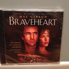 O S T - from movie : BRAVEHEART (1995/DECCA rec/GERMANY) - ORIGINAL/NOU/SIGILAT - Muzica soundtrack decca classics, CD
