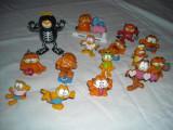 Garfield - 15 figurine de cauciuc si plastic