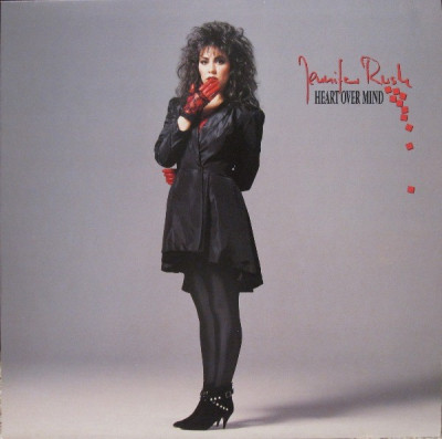 Jennifer Rush - Heart over mind (1987, CBS) Disc vinil LP original foto