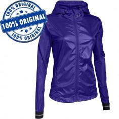 Bluza Under Armour Storm pentru femei - originala - windbreaker - rain jacket - Bluza dama Under Armour, Marime: S, Culoare: Mov, Maneca lunga, Poliester