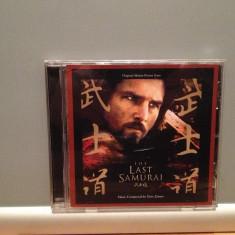 O S T - The LAST SAMURAI (2003/WARNER rec/GERMANY) - ORIGINAL/ ca NOU - Muzica soundtrack warner, CD