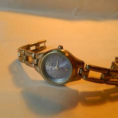 Ceas de dama Fossil cadran mov, cod f33 - Ceas dama Fossil, Casual, Quartz, Inox, Metal necunoscut, Analog