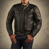 Geaca piele Harley Davidson FXRG moto , motocicleta de la mos Craciun