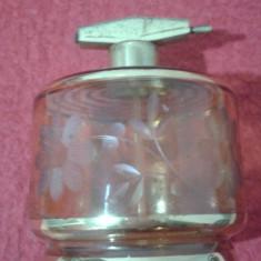 STICLA PARFUM SLEFUITA CU PULVERIZATOR CEHOSLOVACIA - Set parfum