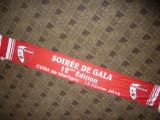 Fular din matase  al Suporterilor Echipei de Fotbal FC Sion- Elvetia 2016