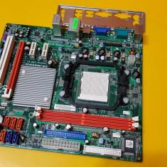 89S.Placa De Baza ECS GF8100VM-M5, 2xDDR2, Socket AM2+, Pentru AMD, MicroATX