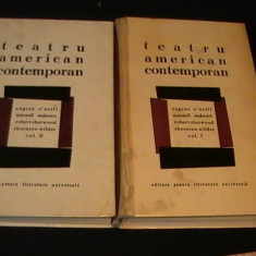 TEATRU AMERICAN CONTEMPORAN-2 VOL-1014 PG-O, NEILL-M. ANDERSON-TH. WIDLER- - Carte Teatru