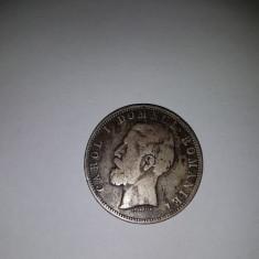 5 lei 1880 - Bancnota romaneasca