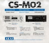Manual casetofon deck Akai CSM02