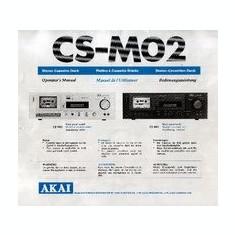 Manual casetofon deck Akai CSM02