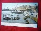 Ilustrata clasica Malta - Portul cca.1900, Necirculata, Printata