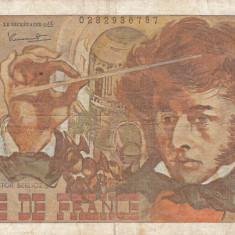 FRANTA 10 francs 3-10-1974 VF-!!! - bancnota europa