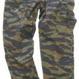 Pantaloni camuflaj tiger stripe, Din imagine