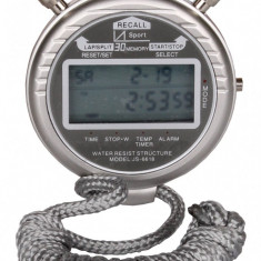 Stopwatch JS6618 With 30 Lap Times - Metal Body