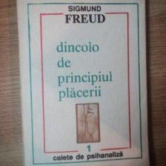 Sigmund Freud Dincolo de principiul placerii - Carte stiinta psihiatrie
