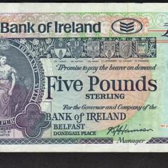 Irlanda 5 Pounds 1994 - bancnota europa