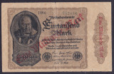 Bancnota Germania 1 Miliard Marci 1923 - P113c VF ( supratipar )