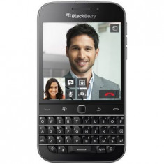 BlackBerry Classic - Telefon BlackBerry, Negru, 16GB, Vodafone, Quad core, 2 GB