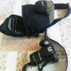Aparat foto DSLR Canon Eos 500d (sau t1i) + obiectiv + geanta