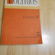 POLYBIOS--ISTORII - VOL. 2 - Istorie