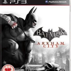 Batman Arkham City - PS3 [Second hand], Actiune, 3+, Single player