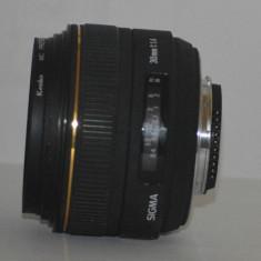 Obiectiv Sigma 30mm f/1.4 EX DG HSM - FREE SHIPPING + CADOU FILTRU PROTECTIE - Obiectiv DSLR