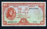 Irlanda  10 Shillings [1] 1959 P#56