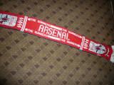 Fular al Suporterilor Echipei de Fotbal FC  Arsenal Londra- Anglia