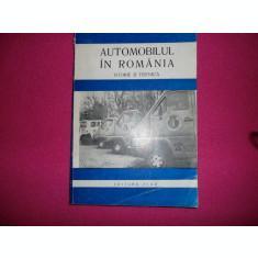 Automobilul din Romania (istorie si tehnica) ioan tatar