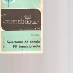 Selectoare de canale FIF tranzistorizate