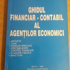RWX 49 - GHIDUL FINANCIAR CONTABIL AL AGENTILOR ECONOMICI - SILION CONSTANTIN - Carte Contabilitate