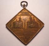 Medalie Regele Carol I Stefan cel Mare si Vasile Lupu 1904 Iasi