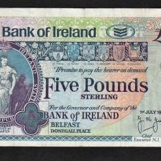 Irlanda 5 Pounds 1997 - bancnota europa