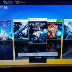 Vand Xbox360+Kinect modat, 250gb, multe jocuri. jocuri kinect - Xbox 360 Microsoft