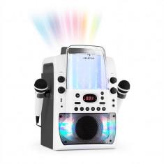 AUNA KARA LIQUIDA BT, dispozitiv karaoke, show de lumini, fântănă de apă, bluetooth, culoare albă / gri - Echipament karaoke