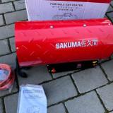 Tun de caldura pe GAZ - SAKUMA - 3000W, 230V - Aeroterma